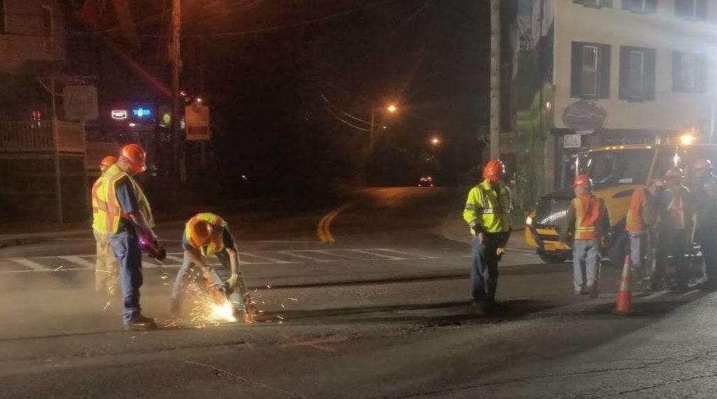 DOT Road Repairs