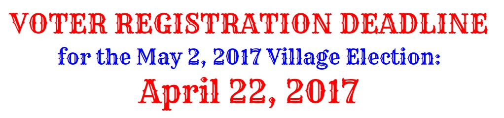 Register to Vote by April 22
